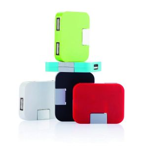 Station USB de voyage, blanc