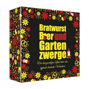 DE Bratwurst. Bier & Gartenzwerge