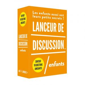 Lanceur de discussion - New pack - Enfant