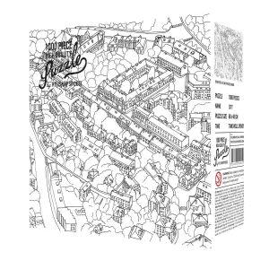 Puzzle City Sketch