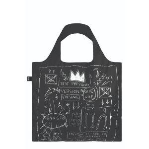 Sac avec pochette zip Jean Michel Basquiat - Crown