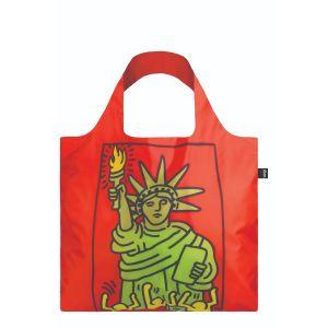 Sac avec pochette zip Keith Haring - New York