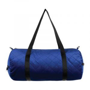Weekender réversible (Rayures-Matelassé bleu)- Betty Blue