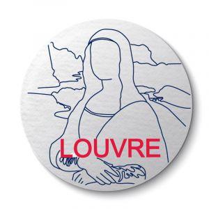 Aimant Louvre Joconde