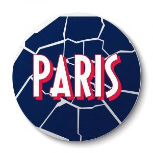 Aimant Carte Arrondissements Parisiens