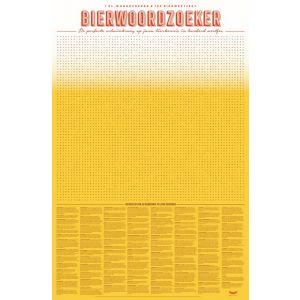 XL Spelposter Bierwoordzoeker (6 stuks)
