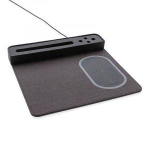 Tapis de souris Air avec chargeur à induction 5W, noir