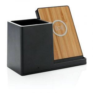 Ontarlo 5W wireless charger with pen holder