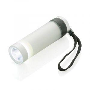 Lampe torche Vivid, argent