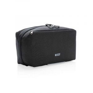 Swiss Peak toiletry bag PVC free, black