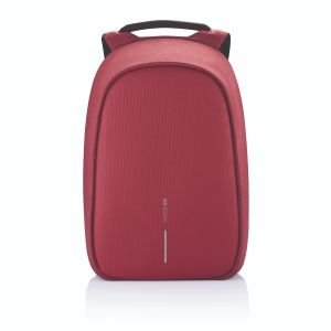 Bobby Hero Regular, Anti-theft backpack, red