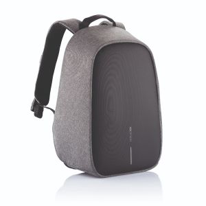 Bobby Hero Small, Anti-theft backpack, grey
