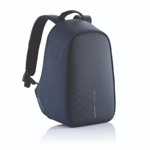 Bobby Hero Small, Anti-theft backpack, navy