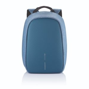 Bobby Hero Small, Anti-theft backpack, light blue