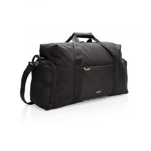 Swiss Peak RFID work and sports duffle PVC free, black