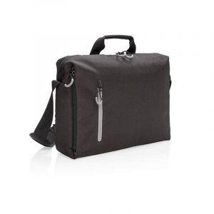 Sacoche à ordinateur 15.6'' avec protection anti RFID Lima, noir