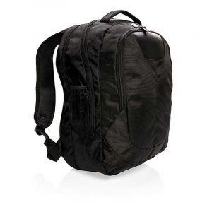 Swiss Peak outdoor laptop backpack, black