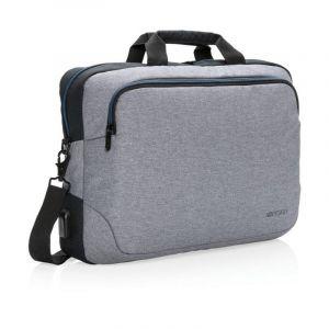 """Sacoche pour ordinateur portable 15"""" Arata, gris"""