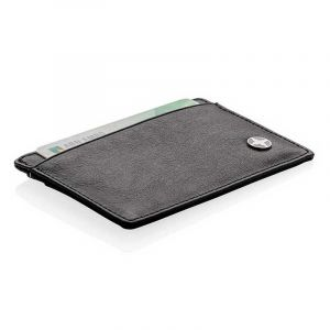 Porte-cartes anti RFID, noir