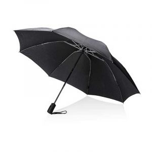 Parapluie réversible et pliable 23'' Swiss Peak, noir
