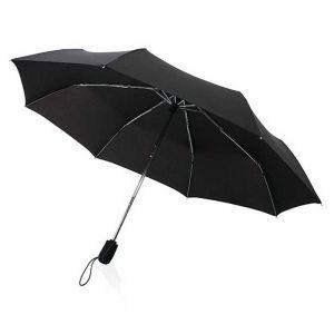 """Parapluie automatique 21"""" Traveler, noir"""