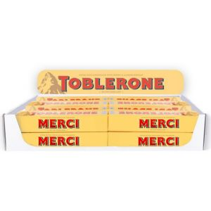 Starter Set Table Display Toblerone 100g Bestsellers Wallonia, 40 pcs, 10 different texts