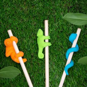 Crayon avec gomme de la Jungle - Caméléon