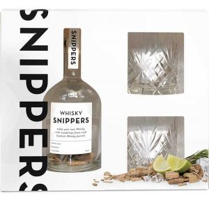 Snippers Gift Pack Whisky 2 Glasses