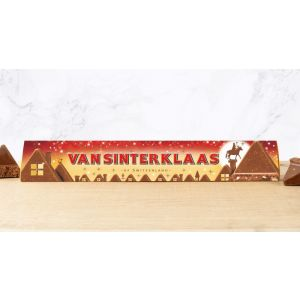 Starter Set Table Display Toblerone 100g Sinterklaas Flanders/Netherlands, 40 pcs, 5 different texts