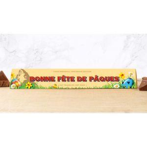 Toblerone 100g Design Pâques: BONNE FÊTE DE PÂQUES