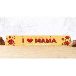 Toblerone 100g Mother's Day Design: I ♥ MAMA