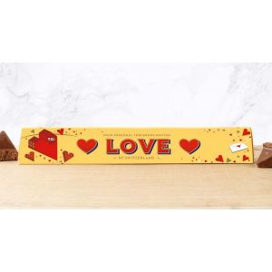 Toblerone 100g Valentine's Design: ♥ LOVE ♥