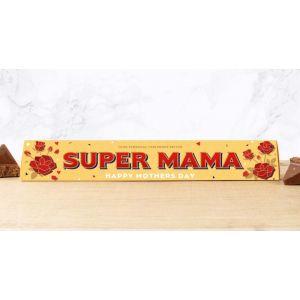 Toblerone 100g Mother's Day Design: SUPER MAMA