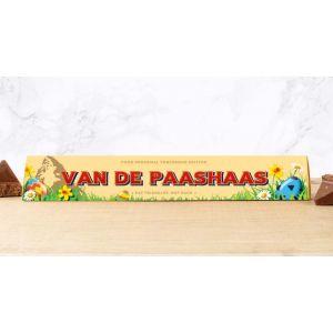 Toblerone 100g Easter Design: VAN DE PAASHAAS