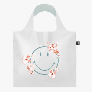Sac SMILEY - TRANSPARENT Milky Blossom