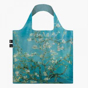 Sac RECYCLE Avec Pochette Zip Artist VINCENT VAN GOGH Almond Blossom (Amandiers en Fleurs)