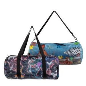Weekender réversible Kristjana S Williams Interiors, World Map & Reef