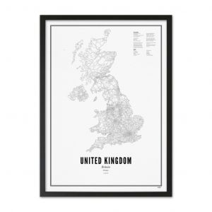 Prints - United Kingdom A3