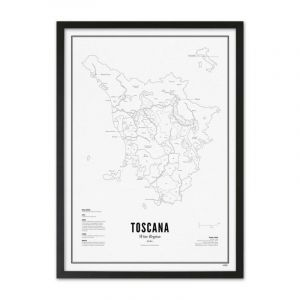 Prints - Toscane - Région Viticole Postcard