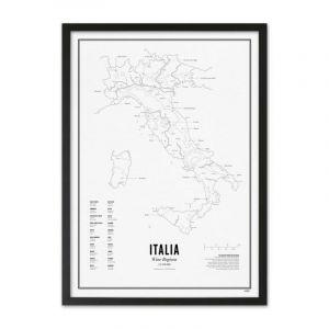 Prints - Italie - Régions Viticoles A3
