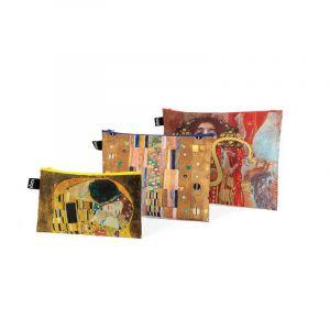 Lot 3 Zip Pockets Museum Museum Klimt