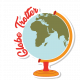Autocollant Globe Trotter