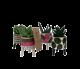 Succulents pot ceramic Elma small